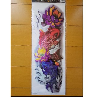 タトゥシール 刺青 ファッション シール ステッカー コスプレ ドクロ 入れ墨(アクセサリー)