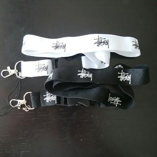 ステューシー(STUSSY)のステューシー ネットストラップ stussy neckstrap 単品販売(ノベルティグッズ)