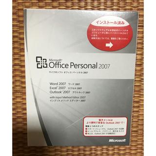 マイクロソフト オフィス パーソナル 2007  (PCパーツ)