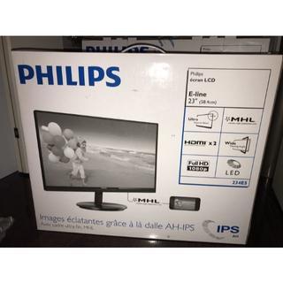フィリップス(PHILIPS)のフィリップス23型ディスプレイ234E5QHSB/11/23インチ(ディスプレイ)