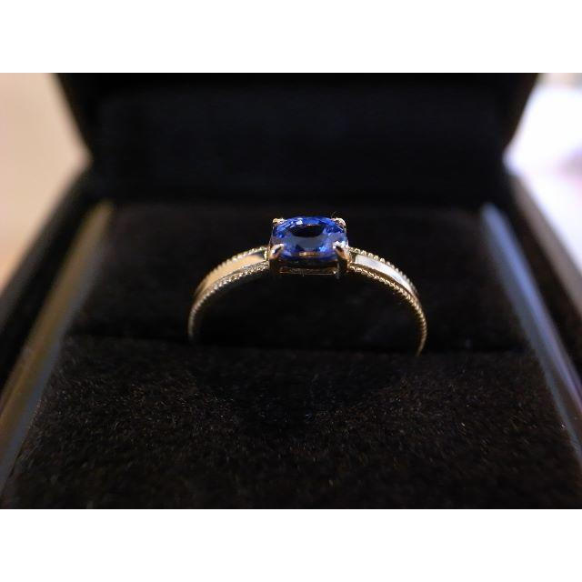 umu(アム) K18YG サファイア 「celeste」 レディースのアクセサリー(リング(指輪))の商品写真