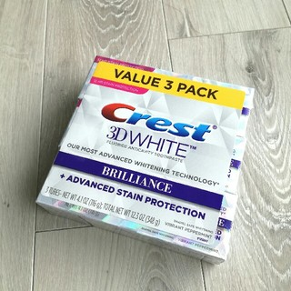 クレスト(Crest)のCrest クレスト 3D ホワイト ブリリアンス ホワイトニング 歯磨き粉(歯磨き粉)
