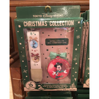 ディズニー(Disney)のディズニー  35周年   カメラストラップ   ミッキー   クリスマス(ネックストラップ)