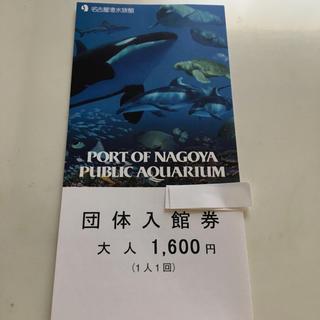名古屋港水族館 入館券 大人 1枚(水族館)