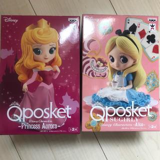 ディズニー(Disney)のQposket フィギュア オーロラ&アリス(フィギュア)