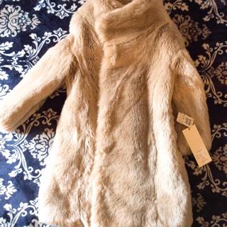 エムスール(m.soeur)のスールのファーコート未使用(毛皮/ファーコート)