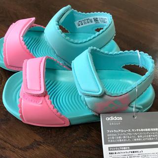 アディダス(adidas)のアディダス  サンダル 14センチ(サンダル)