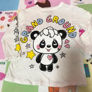 グラグラ(GrandGround)のグラグラ らくがきハッピーロンT 100(Tシャツ/カットソー)