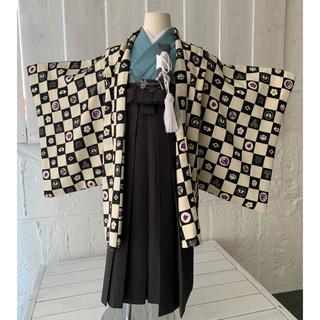 七五三  着物  5歳  男の子  羽織袴 JAPAN  STYLE 1909(和服/着物)