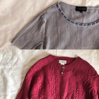 エルエルビーン(L.L.Bean)のL.L.Bean Henley Sweaters(ニット/セーター)