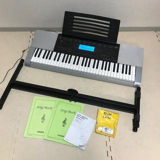 カシオ(CASIO)のキレイ☆CASIO ベーシックキーボード CTK-4200☆スタンド付(キーボード/シンセサイザー)