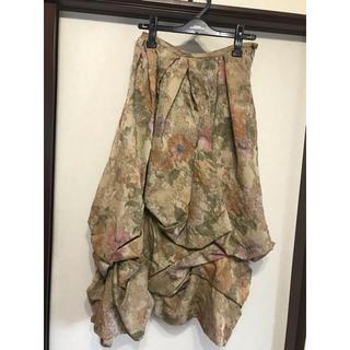 ジェーンマープル(JaneMarple)のJane Marple ゴブラン織 ロングスカート(ロングスカート)