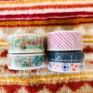 新品 マスキングテープ 4本セット(テープ/マスキングテープ)