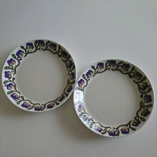 アラビア(ARABIA)のARABIAプレート2枚セット(食器)