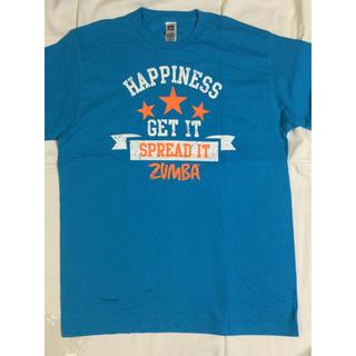 ズンバ(Zumba)のZUMBA Tシャツ  水色   最新作(Tシャツ/カットソー(半袖/袖なし))
