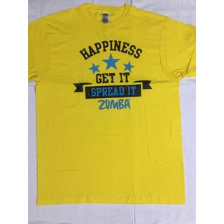 ズンバ(Zumba)のズンバ Tシャツ イエロー  新品(Tシャツ/カットソー(半袖/袖なし))