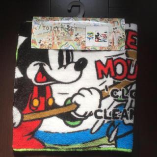 ディズニー(Disney)のディズニー トイレマットトイレタリー トイレカバーセット(トイレマット)