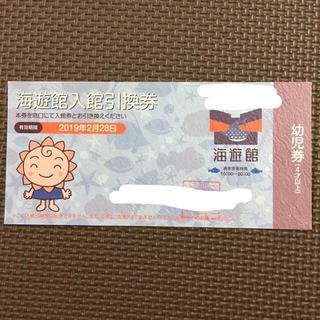 海遊館 チケット(水族館)