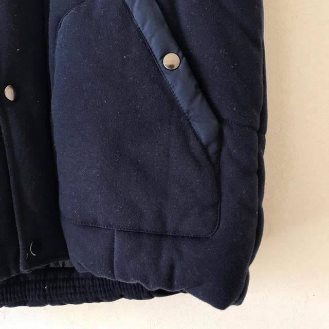 GU(ジーユー)のGU メンズ  中綿ベスト ネイビー レディースのジャケット/アウター(ダウンベスト)の商品写真