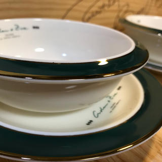 タチキチ(たち吉)のたち吉 アダム&イブ スープ皿 2セット(食器)