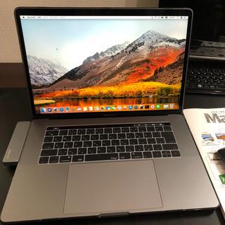 マック(Mac (Apple))のMacBook Pro 15インチ Touch Bar付 i7 2017(ノートPC)