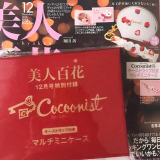 コクーニスト(Cocoonist)の美人百花12月号付録(ポーチ)