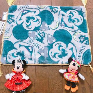 ディズニー(Disney)のミニーマット(玄関マット)