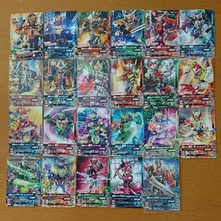 カメンライダーバトルガンバライド(仮面ライダーバトル ガンバライド)の②ガンバライジング カード 鎧武 CP含む(シングルカード)