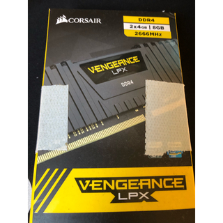 コルセア DDR4メモリ 4GB✖️2(PCパーツ)