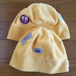 ティンカーベル(TINKERBELL)のティンカーベル キッズフリース帽子 ML2枚セット(帽子)