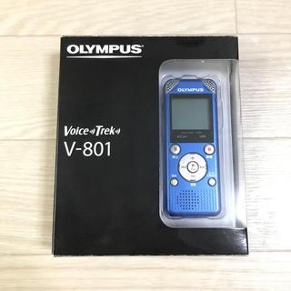 オリンパス(OLYMPUS)のボイスレコーダー オリンパス V-801 ブルー(その他)