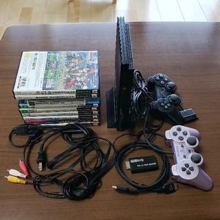プレイステーション2(PlayStation2)のPS2 本体 セット SCPH-90000 中古(家庭用ゲーム本体)