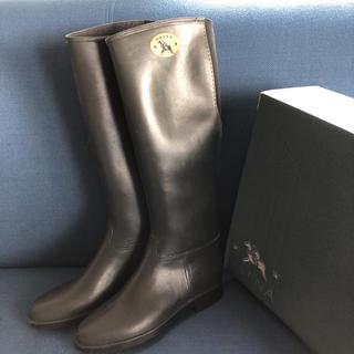ダフナブーツ(Dafna Boots)のダフナ レインブーツ グレー  36(レインブーツ/長靴)
