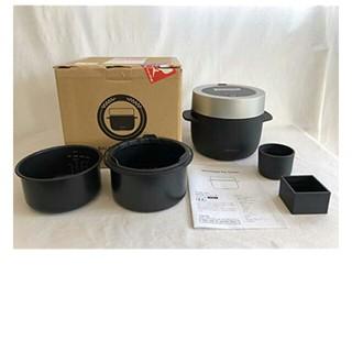 バルミューダ(BALMUDA)の新品  バルミューダ ザ  ゴハン ブラック(調理機器)