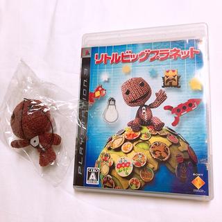 プレイステーション3(PlayStation3)のPS3ソフト リトルビッグプラネット☆初回限定マスコット付き!(家庭用ゲームソフト)