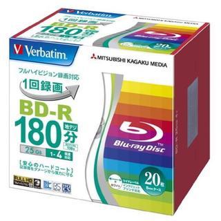 三菱ケミカルメディア Verbatim 1回録画用 BD-R VBR130YP2(DVDレコーダー)