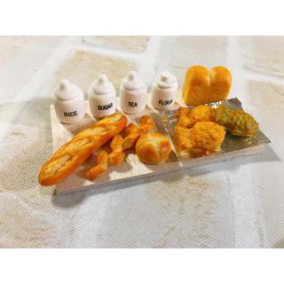 ミニチュア☆陶器 パン たい焼き(ミニチュア)