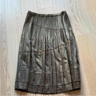 ディノス(dinos)のギャザースカート(ひざ丈スカート)