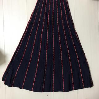 ザラ(ZARA)のロング ニットスカート(ロングスカート)