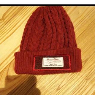 シマムラ(しまむら)のしまむら×ハリスツイード ニット帽(帽子)