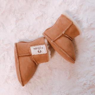 コアラビ(Koalabi)の[未使用]子供用ムートンブーツ 12㎝(ブーツ)