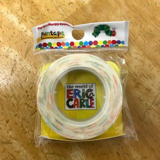 マスキングテープ はらぺこあおむし  レア 新品未使用(テープ/マスキングテープ)