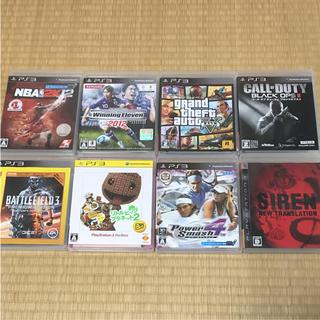 プレイステーション3(PlayStation3)のPs3 ソフト セット(家庭用ゲームソフト)