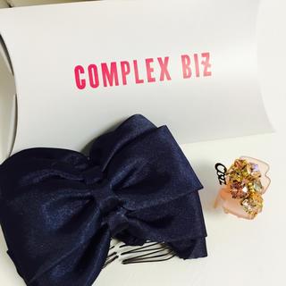 コンプレックスビズ(Complex Biz)の新品 コンプレックスビズ ヘアクリップ(バレッタ/ヘアクリップ)