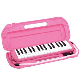 キクタニ ピアニカ ピンク 32鍵盤(ピアノ)