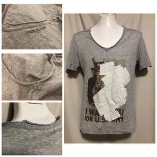 ニールバレット(NEIL BARRETT)のNeIL Barrett ニールバレット カットオフ Tシャツ カットソー XS(Tシャツ/カットソー(半袖/袖なし))