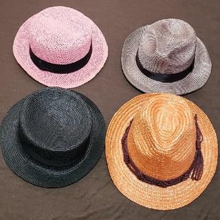 季節外れカンカン帽子四点セット(麦わら帽子/ストローハット)