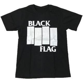 BLACK FLAG/ブラックフラグ プリントTシャツ ブラック L 男女兼用(Tシャツ/カットソー(半袖/袖なし))