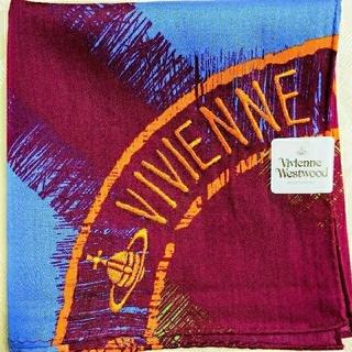 ヴィヴィアンウエストウッド(Vivienne Westwood)のヴィヴィアンウエストウッド57cm×57cm大判ハンカチ(ハンカチ/バンダナ)