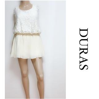 デュラス(DURAS)のDURAS ▶︎激かわ インナー付き ワンピース♡リゼクシー リップサービス(ミニワンピース)